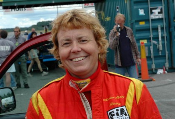 Monica Öberg firade sin 23:e säsong som Top Fuelpilot med en seger på Tullinge Raceway. Foto: Lasse Jansson, LJ Media.